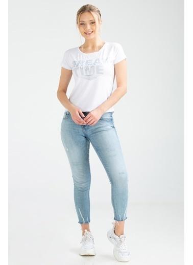Speedlife Bream Kadın Tişört Beyaz